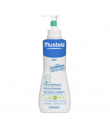 Mustela Bebe Dermo-Cleansing Gel 500mL Pump