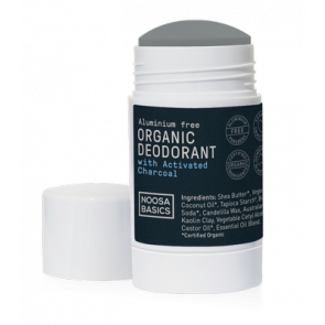 Noosa Basics Deodorant Stick 60g - Activated Charcoal