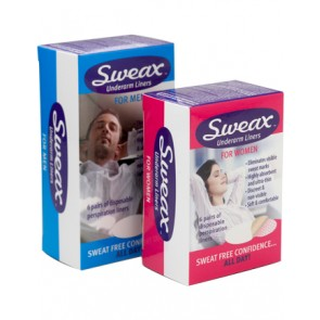 Sweax Underarm Liner For Men 6 Pack