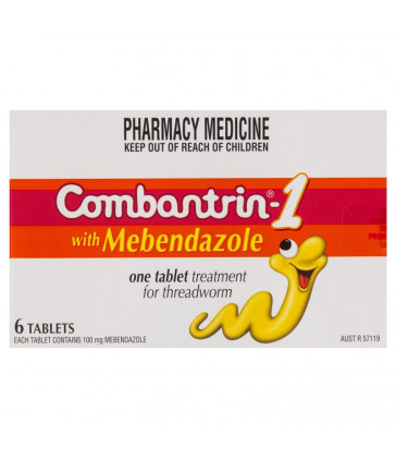 Combantrin 1 Tablets 6 Pack