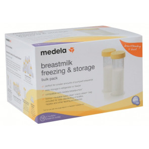 Medela 80ml Breast Milk Freezing & Storage Containers 12 Pack