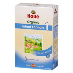 Holle Organic COW Infant Milk Formula Step 1 (400g) - EXPIRY 30/10/2017