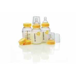 Medela Breastmilk Bottles 150ml with Wide Neck Teat - 3 pack