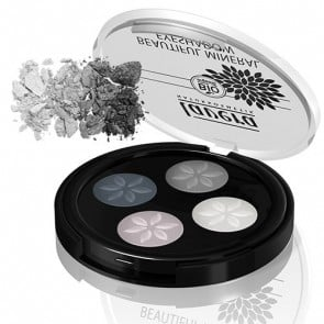 Lavera Beautiful Mineral Eyeshadow Quattro- Smoky Grey 01
