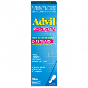 Advil Childrens Suspension 2-12 years 100ml