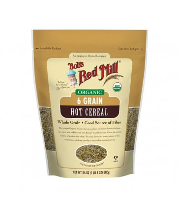 Bob's Red Mill Organic 6 Grain Right Stuff Hot Cereal 680g x 4