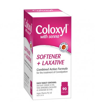 Coloxyl & Senna 90 Tablets