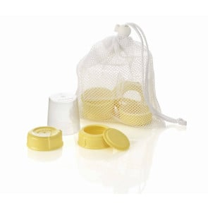 Medela Breast Milk Bottle Wide Neck Spare Parts (set of 3 parts)