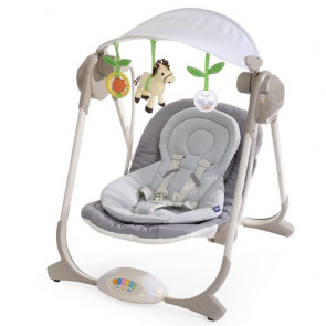 Chicco Polly Portable Swing GREY