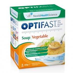 Optifast VLCD Soup Mixed Vegetable 54g 8 Pack