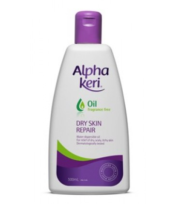 Alpha Keri Fragrance Free Oil 500 ml