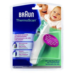 Braun Thermoscan Digital Ear Thermometer IRT 4020