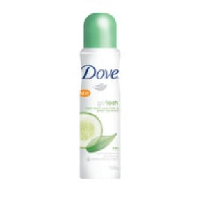 Dove Go Fresh Cucumber & Green Tea Scent Deoderant Aerosol 100gm