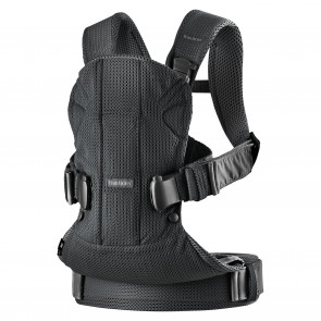BabyBjorn Baby Carrier ONE Air - Black Mesh