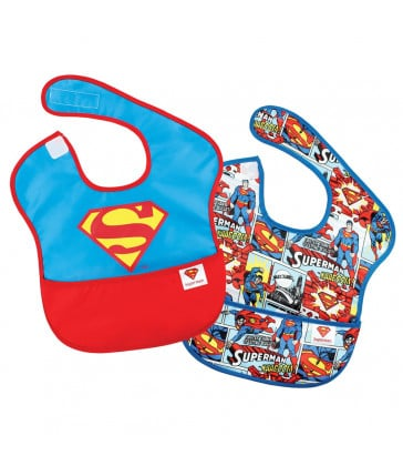 DC Comics - SuperBib 2 Pack - Superman / Large Logo