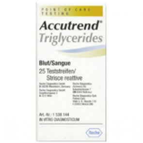 Accutrend Plus Triglycerides Strips 25 Pack