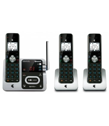 TELSTRA LONG RANGE 12750 TRIPLE DECT360 CORDLESS PHONE WITH BLUETOOTH MOBILE CONNECT