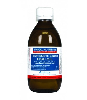 Ethical Nutrients Hi-Strength Liquid Fish Oil 280ml