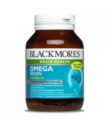 Blackmores Omega Brain (60 caps)