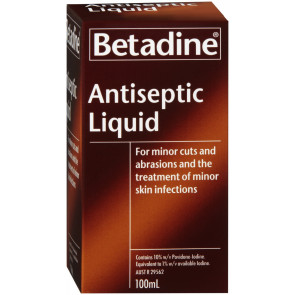 Betadine Antiseptic 100 ml Liquid