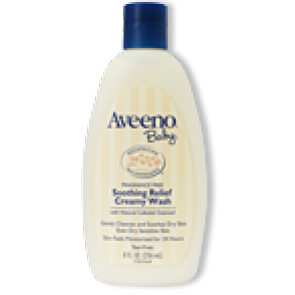 Aveeno Baby Soothing Relief Creamy Wash Fragrance Free Tube 236mL