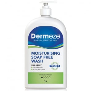 Dermeze Soap Free Wash 1L