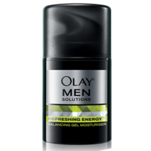 Olay Solutions for Men Refreshing Energy Gel Moisturiser 50gm