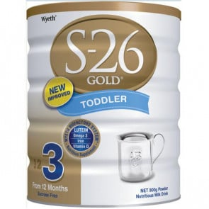 S26 Gold Toddler 900g Can