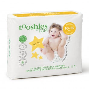 Tooshies by TOM eco Nappies- Toddler Size 4 (27pk)