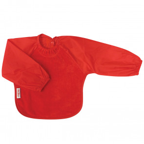 Silly Billyz Small Bib Long Sleeved Towel - Red