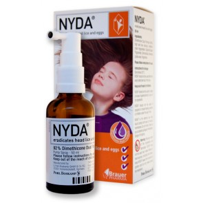 Nyda Head Lice and Egg Removal 50mL