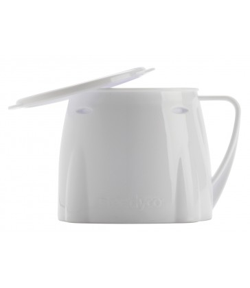 Steadyco Lets Eat Cup & Lid White