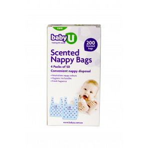 Baby U Scented Nappy Sacks 200