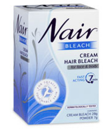 Nair Cream Hair Bleach for Face and Body