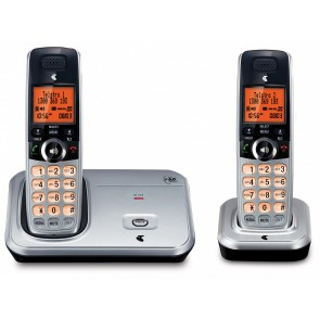 TELSTRA 12500 TWIN DECT6.0 CORDLESS PHONE