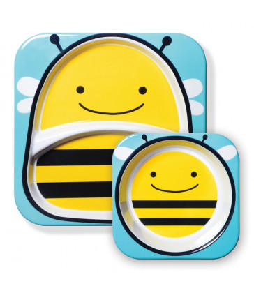 Skip Hop Zoo Tableware - Melamine Set - Bee