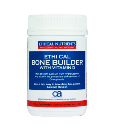 Ethical Nutrients Ethi Cal Bone Builder with Vitamin D Powder 180g