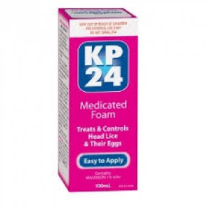 KP24 Medicated Foam 1.0% 100 ml