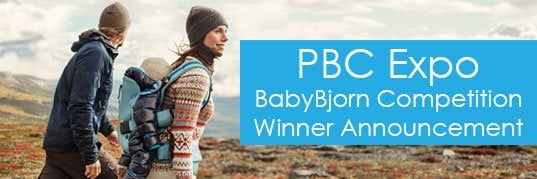 Winner of the Melbourne PBC Expo BabyBjorn ONE Outdoors